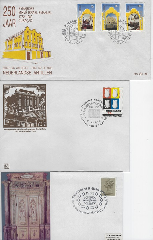 Lot 20 - judaica non JNF labels and stamps -  Negev Holyland 92nd Holyland Postal Bid Sale