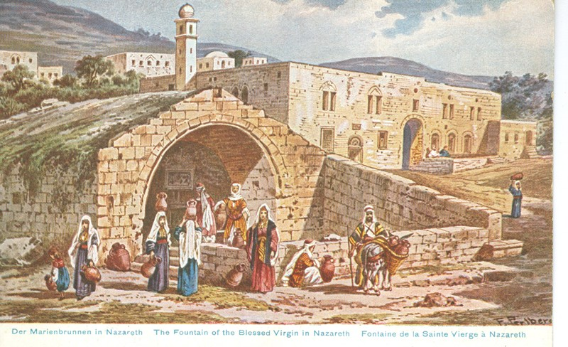 Lot 21 - judaica picture post cards -  Negev Holyland 92nd Holyland Postal Bid Sale