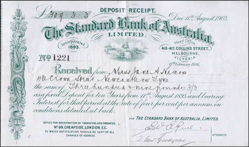 Lot 758 - World Banknotes Australia -  Romano House of Stamp sales ltd Auction #39: Worldwide Stamps, Postal History, Worldwide Coins & Worldwide Banknotes