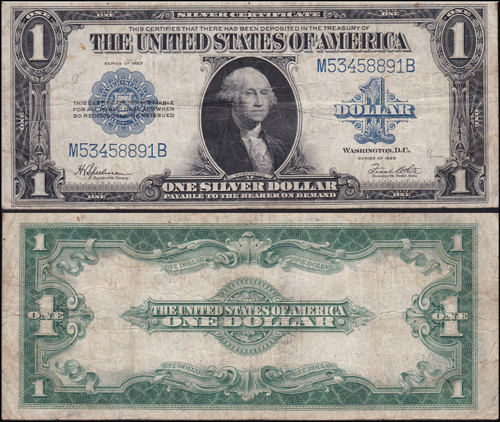Lot 778 - World Banknotes usa -  Romano House of Stamp sales ltd Auction #39: Worldwide Stamps, Postal History, Worldwide Coins & Worldwide Banknotes