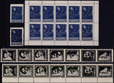 Lot 106 - minhelet ha'am interim period stamps -  Romano House of Stamp sales ltd Auction #39: Worldwide Stamps, Postal History, Worldwide Coins & Worldwide Banknotes