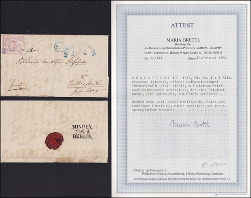 Lot 450 - world wide philately germany early states -  Romano House of Stamp sales ltd Auction #39: Worldwide Stamps, Postal History, Worldwide Coins & Worldwide Banknotes
