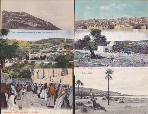 Lot 386 - postcards Holyland Cities & Landscape Postcards -  Romano House of Stamp sales ltd Auction #39: Worldwide Stamps, Postal History, Worldwide Coins & Worldwide Banknotes