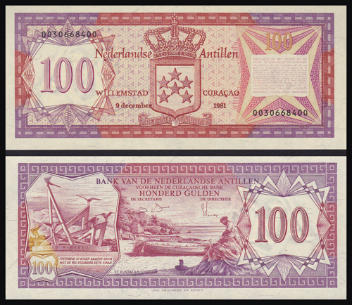 Lot 303 - World Banknotes netherlands antilles -  Romano House of Stamp sales ltd Auction #40