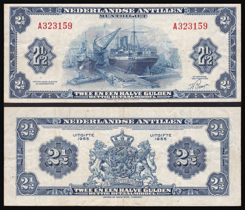 Lot 305 - World Banknotes netherlands antilles -  Romano House of Stamp sales ltd Auction #40