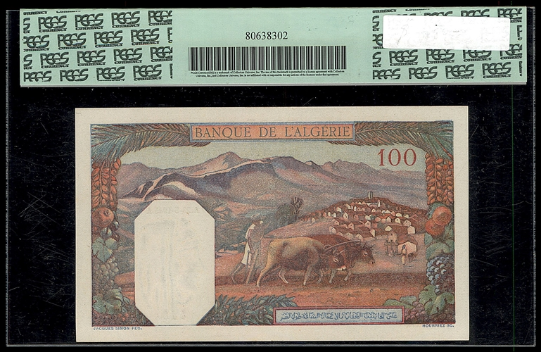 Lot 154 - World Banknotes Algeria -  Romano House of Stamp sales ltd Auction #40