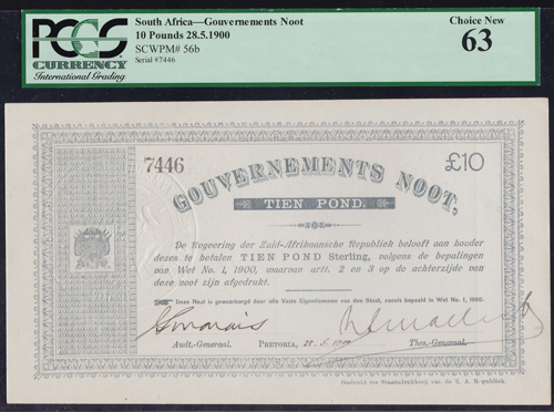 Lot 323 - World Banknotes south africa -  Romano House of Stamp sales ltd Auction #40