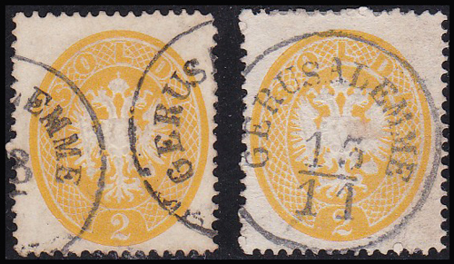 Lot 21 - holyland forerunners austrian post offices -  Romano House of Stamp sales ltd Auction #38: Worldwide Stamps, Postal History, Worldwide Coins & Worldwide Banknotes
