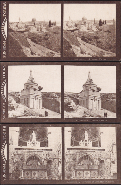 Lot 383 - postcards Holyland Cities & Landscape Postcards -  Romano House of Stamp sales ltd Auction #39: Worldwide Stamps, Postal History, Worldwide Coins & Worldwide Banknotes